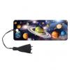Закладка 3D BRAUBERG 'Вселенная', с декоративным шнурком-завязкой,