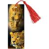 Закладка 3D ArtSpace 'Леопард' с линейкой