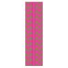 Закладка для книг с резинкой ФЕНИКС+ 'Розовый зигзаг' картон  42923