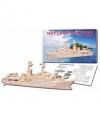 Конструктор деревянный 3D Морской охотник МД-8455