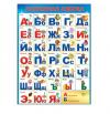 Плакат Азбука Разрезная формат А2 Праздник 941