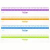 Линейка пластик 15см BERLINGO 'Color Zone', прозрачная