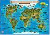 Карта для детей 'Животный и растительный мир Земли' 101*69 GLOBEN КН007