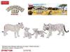 Набор животных 093A-13ZYK Бенгальские тигры в пак.