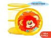 Корзина для игрушек GT5391 Львенок и Черепаха в пакете 40*45 см ТМ СОЮЗМУЛЬТФИЛЬМ