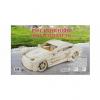 Конструктор деревянный 3D Роскошный автомобиль МД-5246