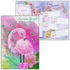 Записная книжка для девочек А5 48л ФЕНИКС 'Маленький фламинго' 50045