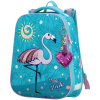 Ранец BERLINGO Expert 'Pink flamingo' 37*28*16см, 2 отделения, 1 карман, анатомическая спинка