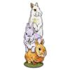 Закладка для книг ФЕНИКС+ 'Кролики на лужайке' 57*140мм 48987