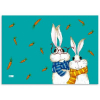 Клеенка для труда ФЕНИКС+ 'Кролики' 70*50 48317