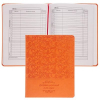 Дневник ПРОФ-ПРЕСС 'Классический узор' оранжевый Д40-3442 универс тв кожзам