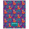 Дневник БиДжи 'Fox Pattern' матовый ламинированный картон, выборочные блестки, 48л 5976