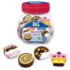 Ластик BG 'Sweets' cинтет фигурный ассорти 6321
