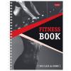 Ежедневник для фитнеса Hatber 'You can do more' А5 96л глянцевый ламированный картон, спираль