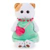 BudiBasa Ли-Ли Кошечка в мятном платье с розовой сумочкой LK24-005