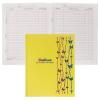 Дневник БиДжи 'Бабочки на волнах' салатовый BG 6451 н/ш тв софт-тач/фольга