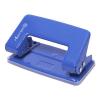 Дырокол на 10л 2 отв металлический без линейки синий 5,5мм ATTOMEX 4020302