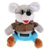 Мульти-пульти Мышка в очках 17см без чипа в пак.