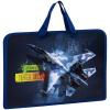 Папка детская А4 ArtSpace 'Fighter aircraft', ручка тесьма, пластик, 75мм