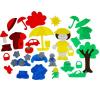 Lip-Lip ковролин Одежда по цветам с игровым полем