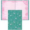 Дневничок для девочек КТС-ПРО 'Фламинго и папоротник' А5 80л тв блест С0366-55