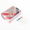 Булавки офисные 38мм ATTOMEX металлические 100шт/уп цветные карт упак 4130300