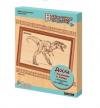Доски для выжигания 2 шт. Динозавр  в рамке  25*18.7*2.5см 6+ 01811