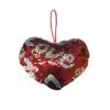 Сердце LOVE подвеска с пайетками 30*26 см