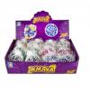 1Toy Мелкие пакости жмяка в сетке с перлам.блестками, 7см, 6 цветов Т16199