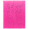 Дневник BG 'Yummy stickers розовый' 1-4 класс искусственная кожа термотиснение, сшивка, 48л 8028
