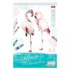 Альбом для акварели 20л HATBER 'Фламинго' гребень мелов тв подложка 220г/м2 20Аа4тВгр_22175