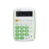 Калькулятор карманный 08-разрядный UNIELК 6*10см зеленый/белый UK-11G