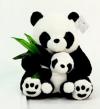 Панда 9301-30 с детенышем и бамбуком