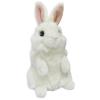 ABtoys Кролик белый 15 см игрушка мягкая M2064