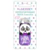 Корректирующая лента DEVENTE 'Сute Panda' 5мм*6м, розовый непрозрачный пластиковый корпус