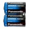 Элемент питания PANASONIC R20 солевая