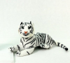 Tashatoys Белый тигр мягконабивной 9*19*25см 9ST-188