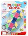 Головоломка змейка разноцветная в ассорт.24 звена 750-3
