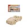 Конструктор деревянный 3D Кабриолет СМ-1017-А4