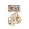 Конструктор деревянный 3D Экскаватор СМ-1016-А4